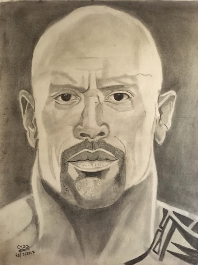 Dwayne Johnson by Govindbelekar